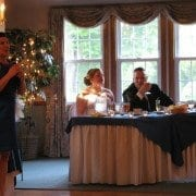 wedding toast, writing a wedding speech