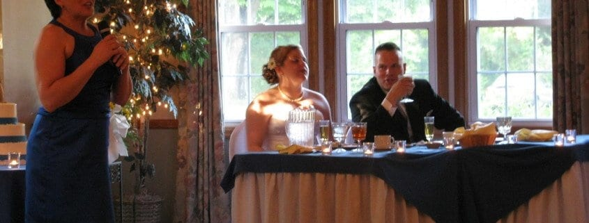wedding toast, writing a wedding speech